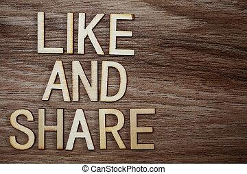 concept, brieven, zoals, zakelijk, houten, alfabet, aandeel, achtergrond