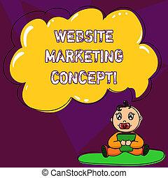 concept, bubble., proces, tekst, pacifier, leeg, wolk, concept., geschrift kleur, boek, toespraak, markt, internet, website, zakelijk, zittende , marketing, tapijt, betekenis, baby, gebruik, handschrift