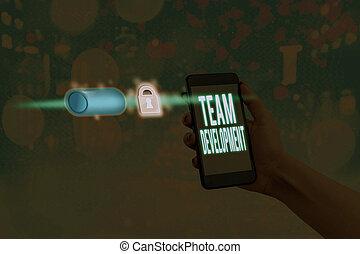 concept, business, development., texte, mot, groups., ...