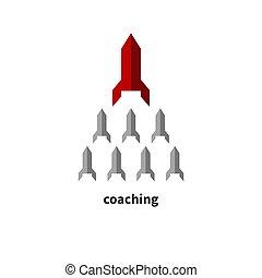 concept, business, entraîneur
