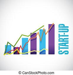 concept, business, graphique, start-up, illustration, signe