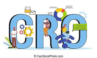 concept., business, ou, taux, idée, conversion, optimization, cro