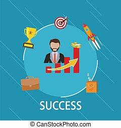concept, business, reussite