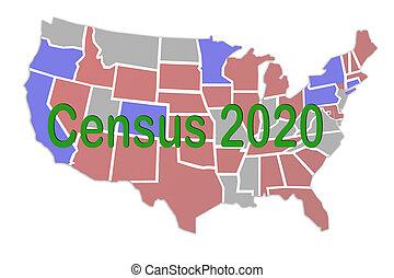 concept, census, 2020
