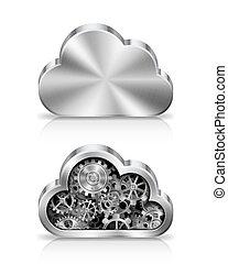 concept., chmura
