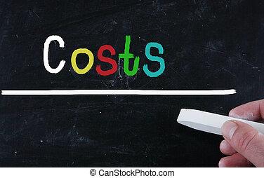 concept, coûts