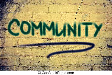 concept, communauté