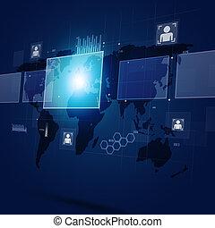 Concept Communication Digital Interface