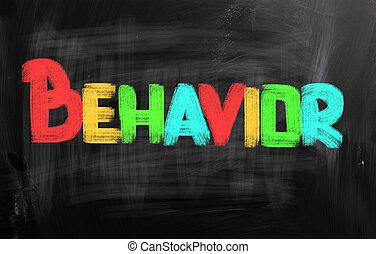 concept, comportement