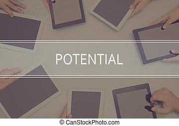 concept., concept, potentiel, business