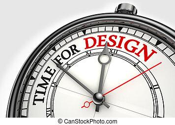 concept, conception, pointeuse