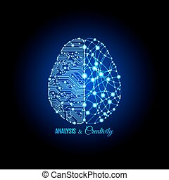 concept, creativiteit, analyse