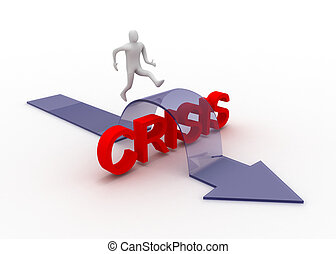 concept, crisis