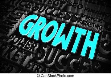 concept, croissance