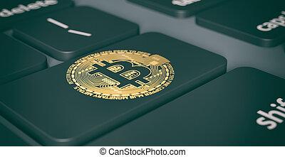 concept, crypto