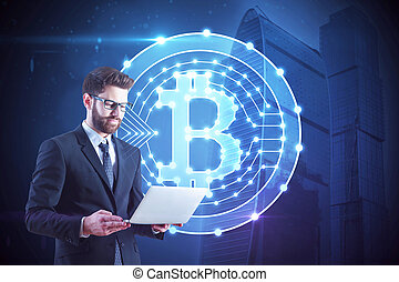 concept, cryptography, e-affaires