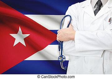 concept, cuba, national, -, système, healthcare