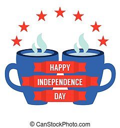 concept., dag, onafhankelijkheid