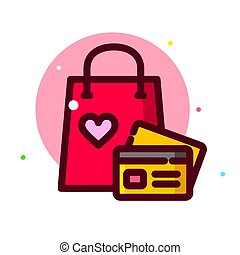 Valentine Day, vector illustration