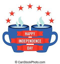 concept., dia, independência
