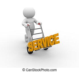 concept, dienst