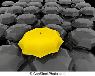 concept, différent, discrimination, mieux, spécial,...