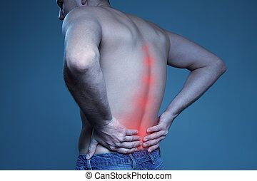 Concept disease.  Pain in the spine