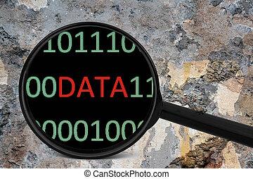 concept, données