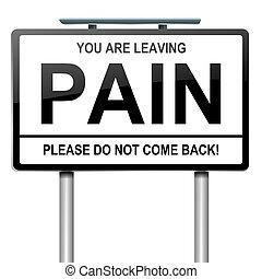 concept., douleur