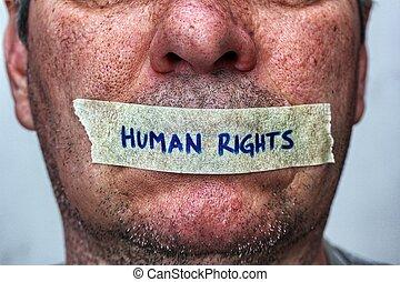 concept, droits homme