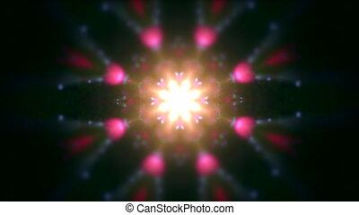 Concept drug trip kaleidoscope