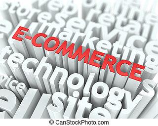 concept., e-commerce., wordcloud, business