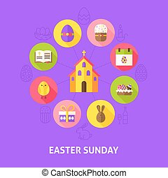 Concept Easter Sunday