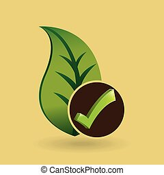 concept ecological icon nature plant