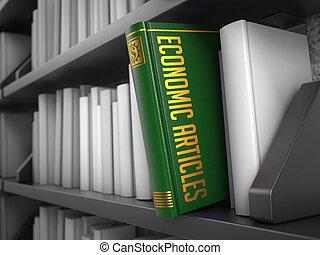 concept., economico, -, titolo, book., articoli, internet