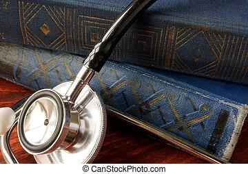 concept., educação, cuidado saúde