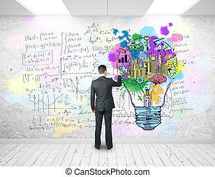 concept, education, business