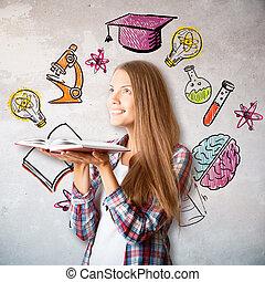 concept, education, connaissance