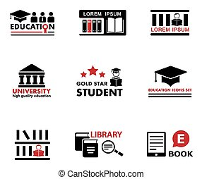 concept education icons