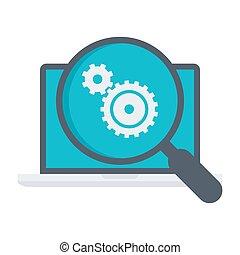 concept, essai, logiciel