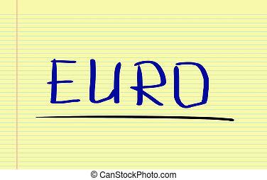 concept, euro