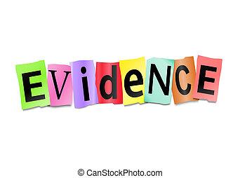 concept., evidencia