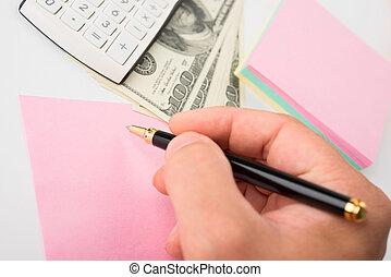 concept, finances