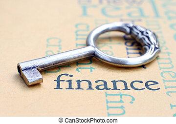 concept, financiën