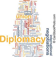 concept, fond, diplomatie