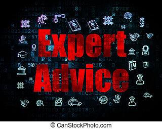 concept:, fond, expert, numérique, droit & loi, conseil