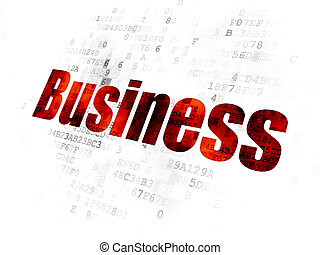 concept:, fond, finance, business, numérique