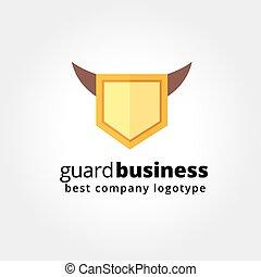 concept, fond, résumé, idées, logo, design., isolé, équipe, ...