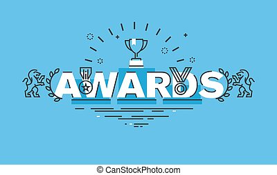 Concept for awards website banner