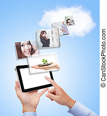 concept for business and cloud computing